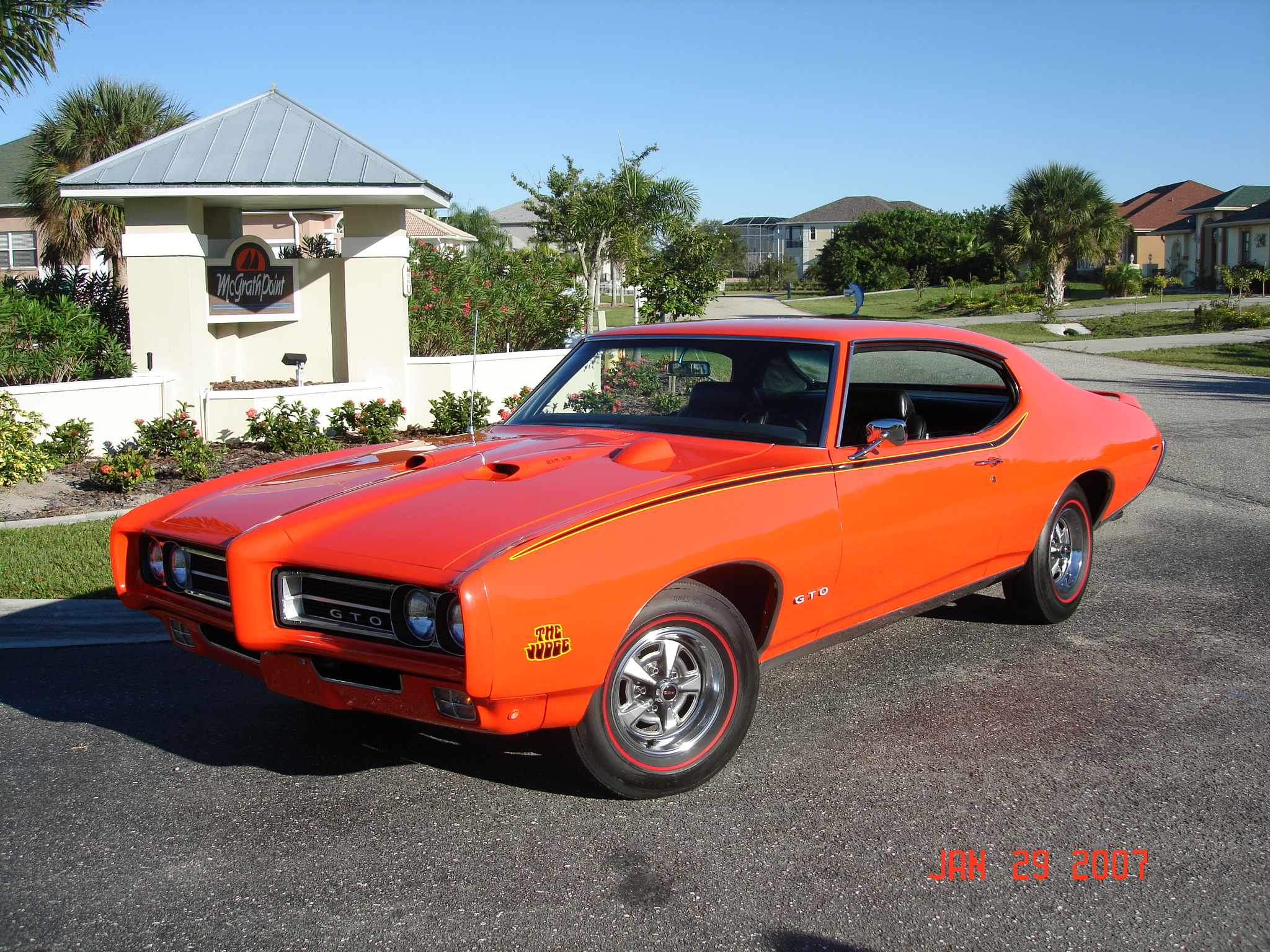 pontiac GTO 1969 JUDGE.
